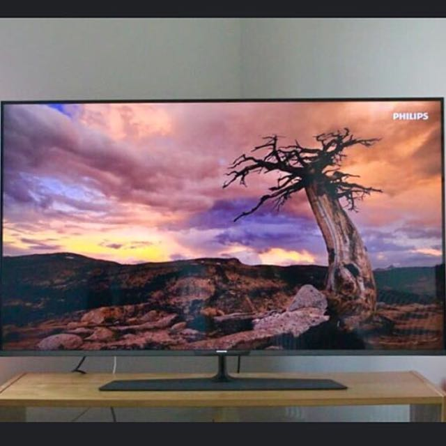Philips Ultra-Slim Smart 4K Ultra-HD LED 3D TV 55 Inches