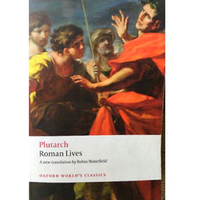 Plutarch - Roman Lives (HIST 2100)