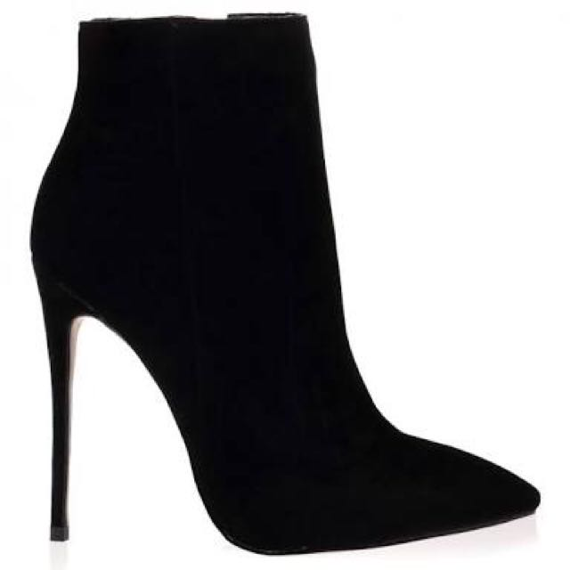 Public Desire Suede Boots