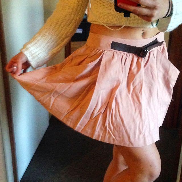 SzSm Pull&Bear Dusty Pink Skirt