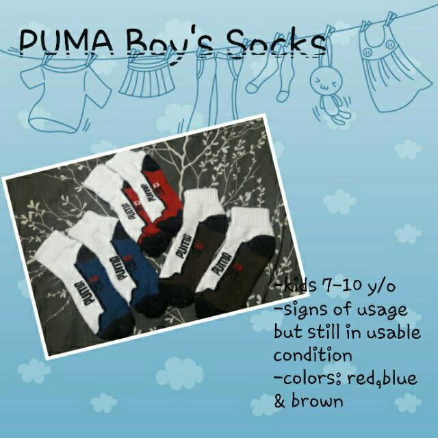 Puma Boys' Socks