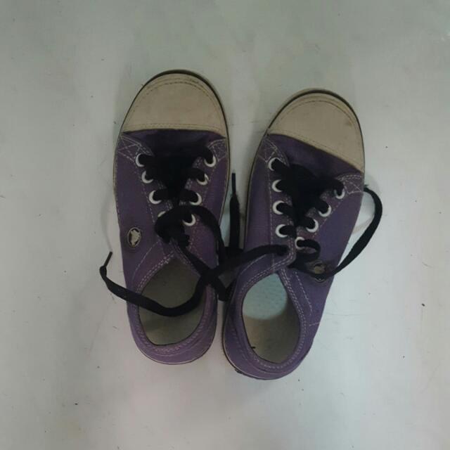 purple crocs for kids