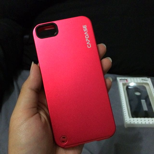 Red Capdase For iPhone 5/5s