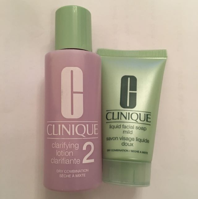 Small Clinique Type 2 Clarifying And Liquid Facial Soap