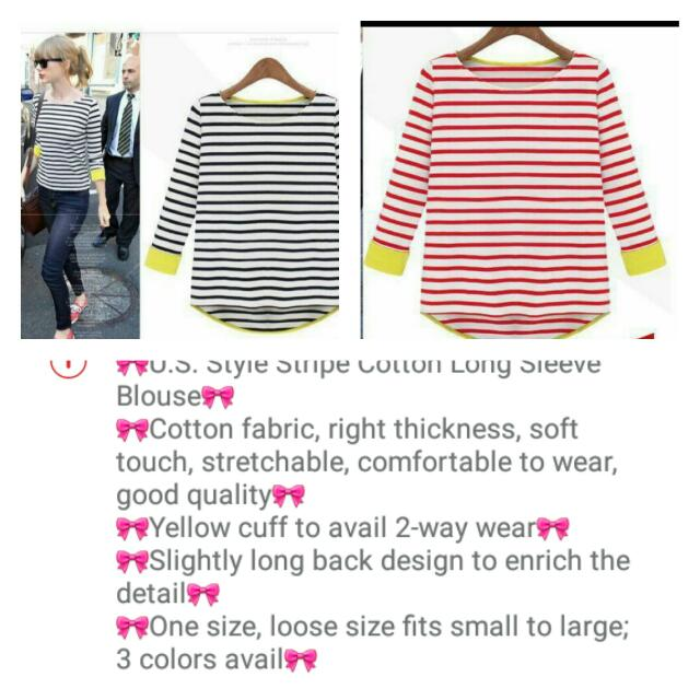 Striped Long Sleeved