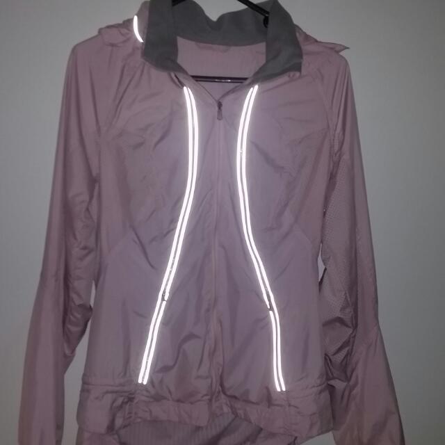 Lululemon Running Jacket With Hood