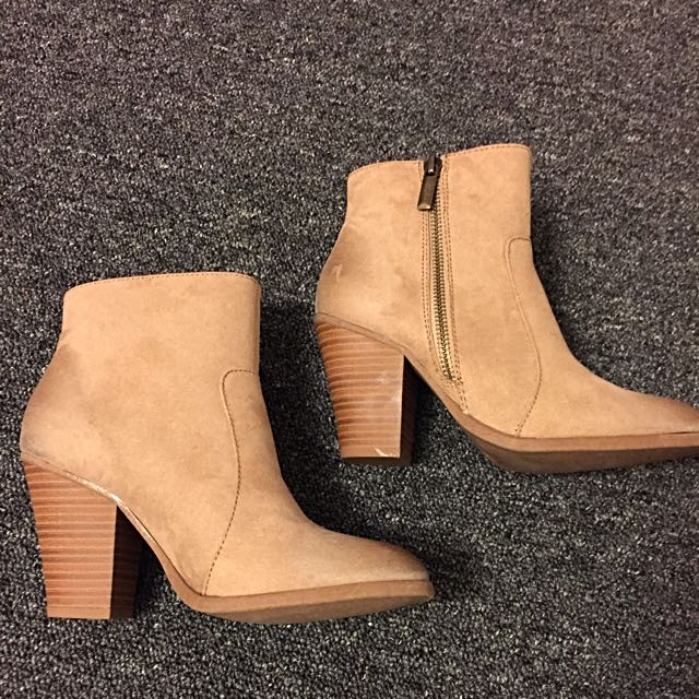 Tanned Booties