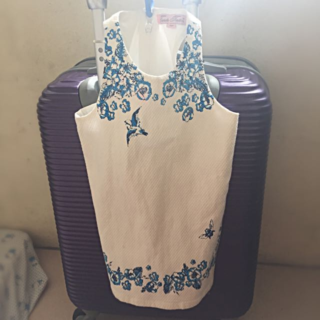 Tarte Tatin White Toddler Dress