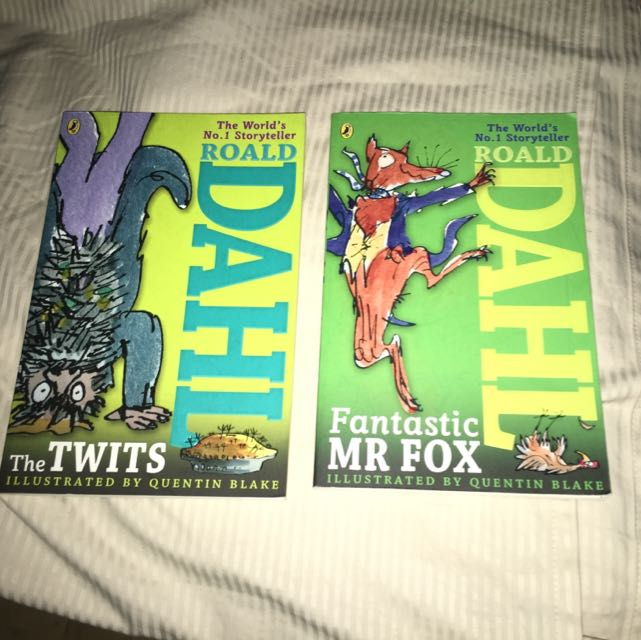 The Twits And Fantastic Mr Fox By Roald Dahl