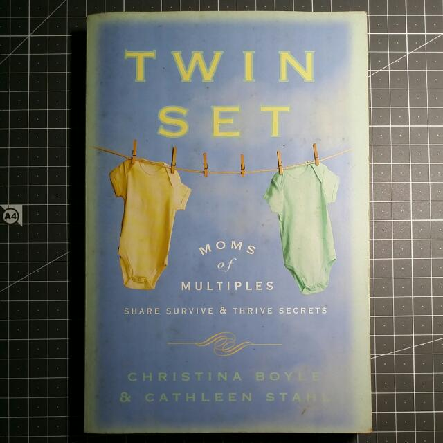 Moms of Multiples Share Survive and Thrive Secrets Twin Set