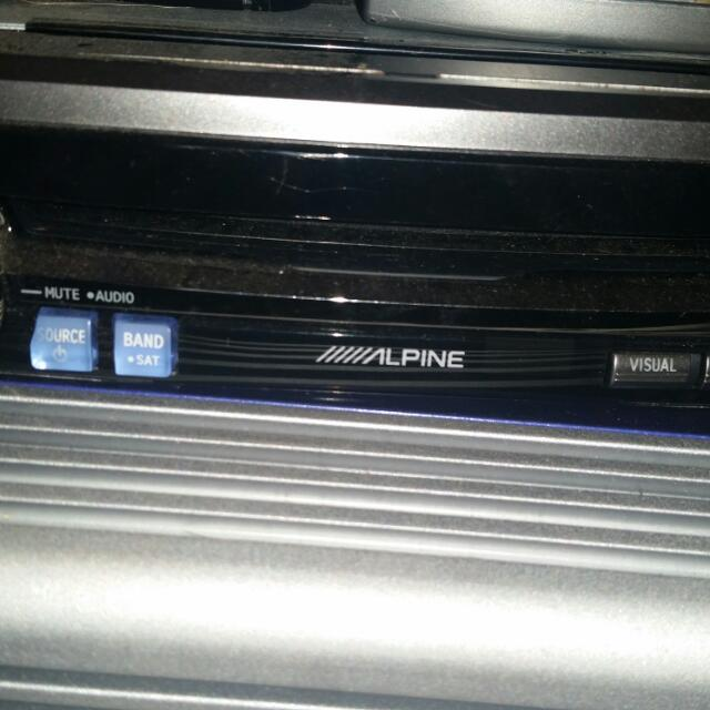 Whole Alpine Touch Screen Car Stereo System