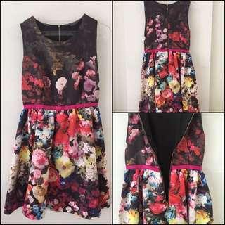 Preloved Flowery Dress Premium Quality