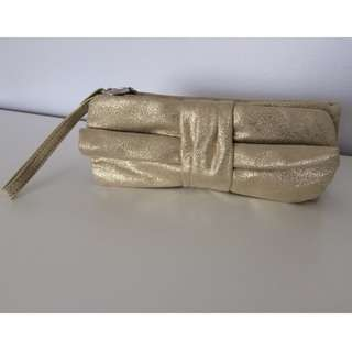 Gold Lasenza cosmetics case