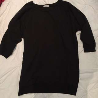 Baggy Style 3/4 Sleeve Top