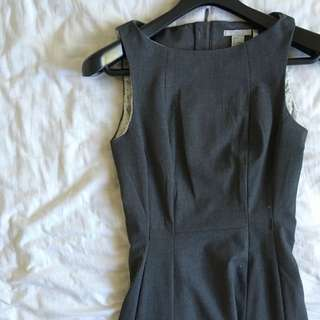 H&M • Business Dress Grey
