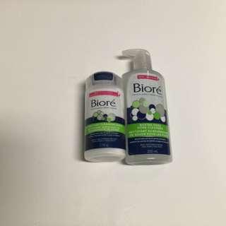 Biore Baking Soda Cleanser & Cleansing Scrub