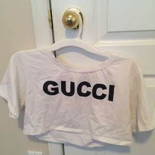 """Gucci"" Crop Top"