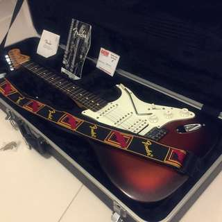 PRICE DROP! Fender Stratocaster Mexican Standard Electric Guitar w/ Gator High-quality Hard case