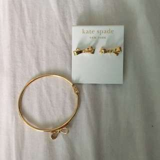 *NEW* Kate Spade Earring and Bracelet Set
