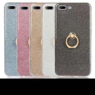 Instock Iphone 7 / 7+ Tpu Glittering Casing
