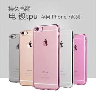Instock Apple Iphone 7/7+ Tpu Glossy Side Casing