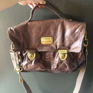 -ON HOLD- Fossil vintage crossbag