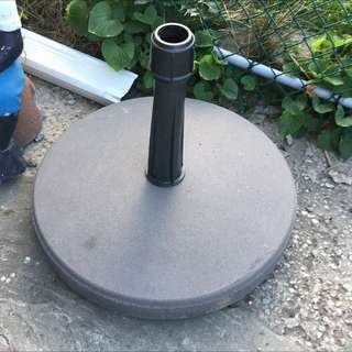 Cement Umbrella Holder