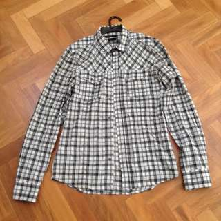 Men's Autonomy Long Sleeve Gingham Shirt