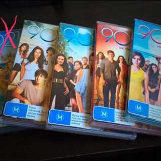 90210 DVD's Full Collection Season 2 To 5
