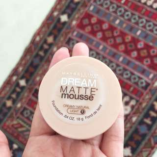 Maybelline - Matte Mousse