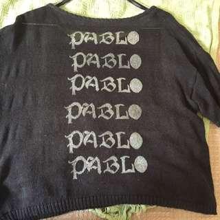 BLACK TOP - DIY Pablo