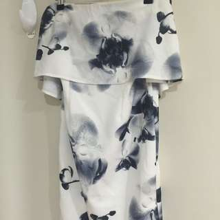 Strapless Noughts & Crosses Dress