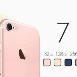 New iPhone 7 32gb Rose Gold