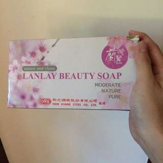 蘭麗 美容皂肥皂禮盒