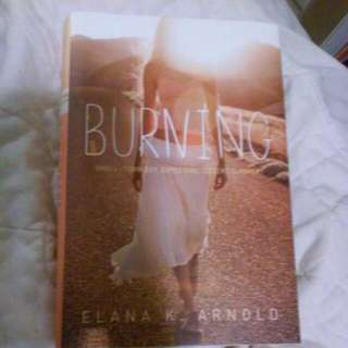 """Burning"" Indigo Book"