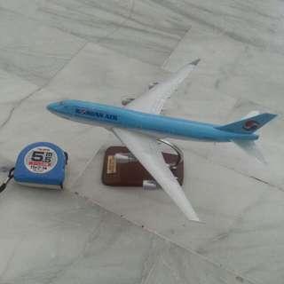 大韓航空飛機模型 B747