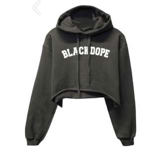 Blvck Dope Army Green Hoodie