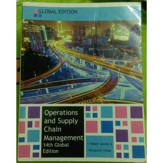 Operations and Supply Chain Management 14th Global Edition
