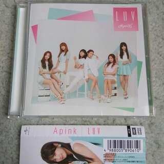 APINK - Luv (Japanese) [Regular Edition] [UNSEALED]