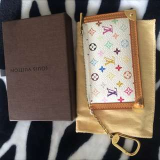 Louis Vuitton Multicolor Key Pouch