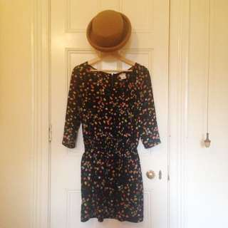 Cooperative Dress with Floral Print