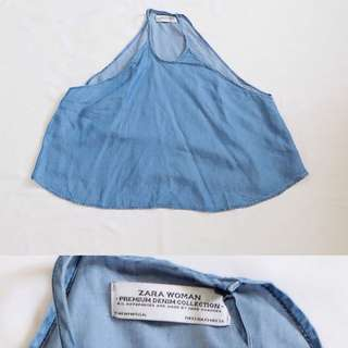 Original Zara Denim Top