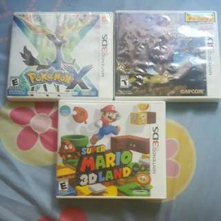 3ds Games. (Reserved)