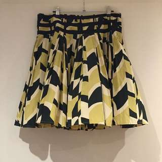 ⭐️⭐️⭐️French connection graphic print skirt | Size 14