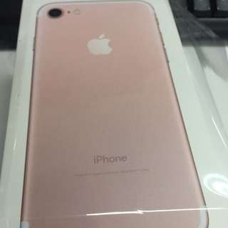 Iphone 7 256GB Rose Gold! Deal Today!