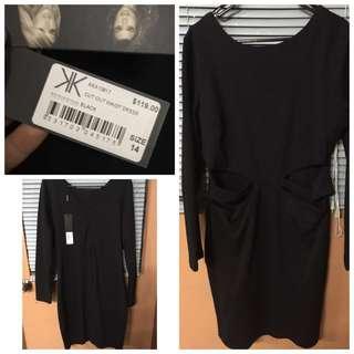 Kardashian Kollection Black Dress