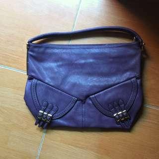 Purple Woman Bag