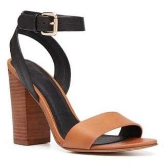 Witchery Women's Gemma Heel Sandals Black Tan Sz 6 (SoldOut)