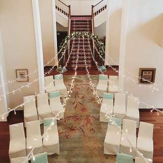 FOR RENT: WEDDING ARCH + OVERHEAD FAIRYLIGHTS