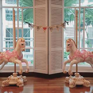 FOR RENT: CAROUSEL HORSE